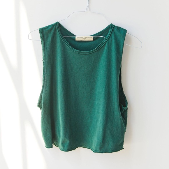 Tops - Project Social T Lace Trim Muscle Tank